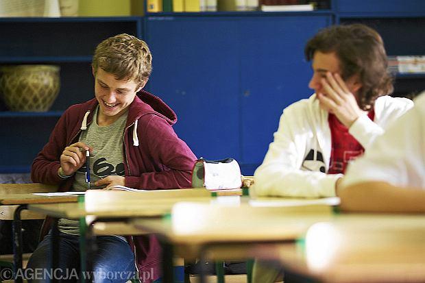 Pr�bny egzamin gimnazjalny 2012/2013 - arkusze i odpowiedzi do testu z j�zyka angielskiego i niemieckiego