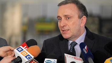 Grzegorz Schetyna negatywnie wypowiadał się o zachowaniu Protasiewicza