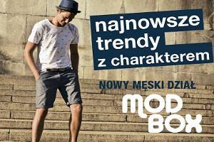 Modbox- nowy dział męski w TK Maxx