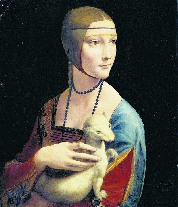 'Dama z gronostajem' Leonarda da Vinci, najsłynniejszy eksponat kolekcj