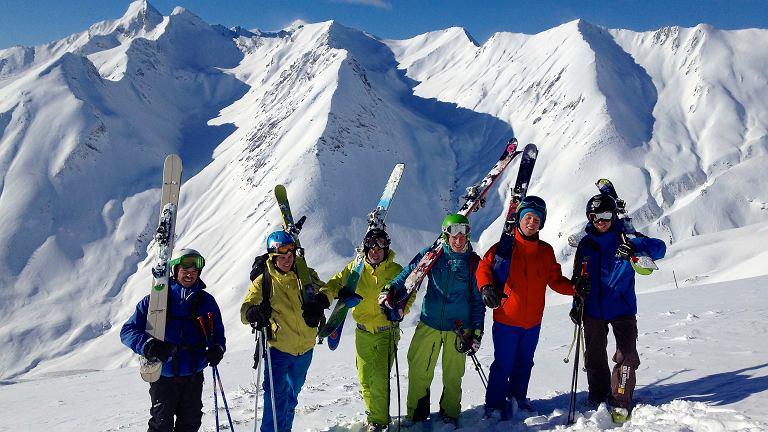 Freeriders w Val d'Allos
