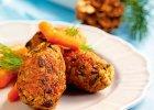 Krokiety z ry�u i suszonych grzybow