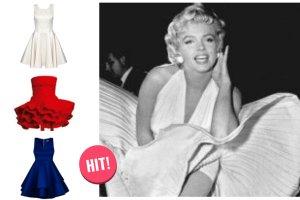 Przegl�d oferty sieci�wek i sklep�w internetowych - rozkloszowane sukienki w stylu pin-up girls
