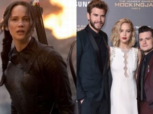 Jennifer Lawrence, Liam Hemsworth i Josh Hutcherson