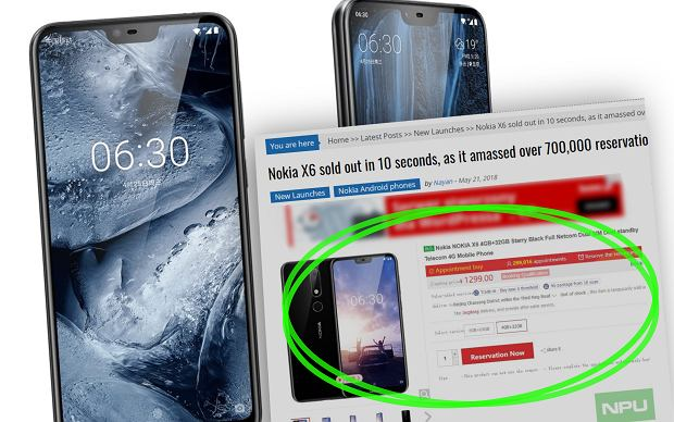 Nokia chwali się sukcesem. Jej najnowszy smartfon wykupiony w 10 sekund. Jest szansa, że pojawi się w Europie