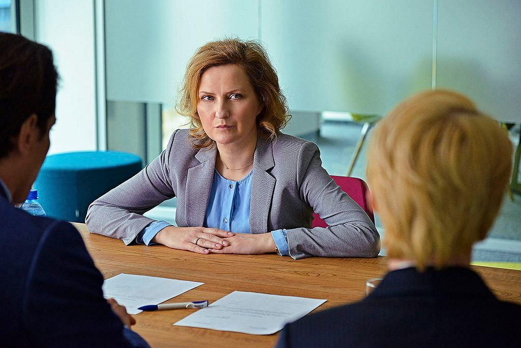 W ''PolandJi'' aktorka wciela się w rolę Joli, która z dnia na dzień traci pracę i postanawia odejść od męża (fot. materiały prasowe)