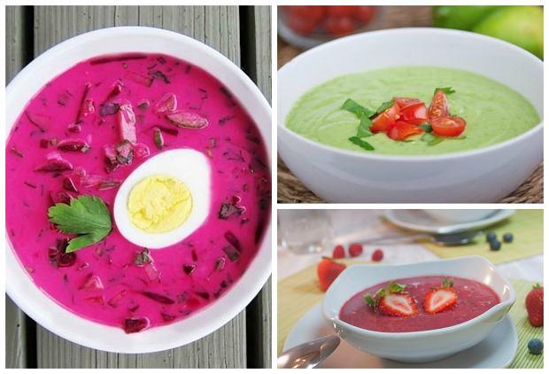 Zimne zupy na gor�ce dni [5 PRZEPIS�W]