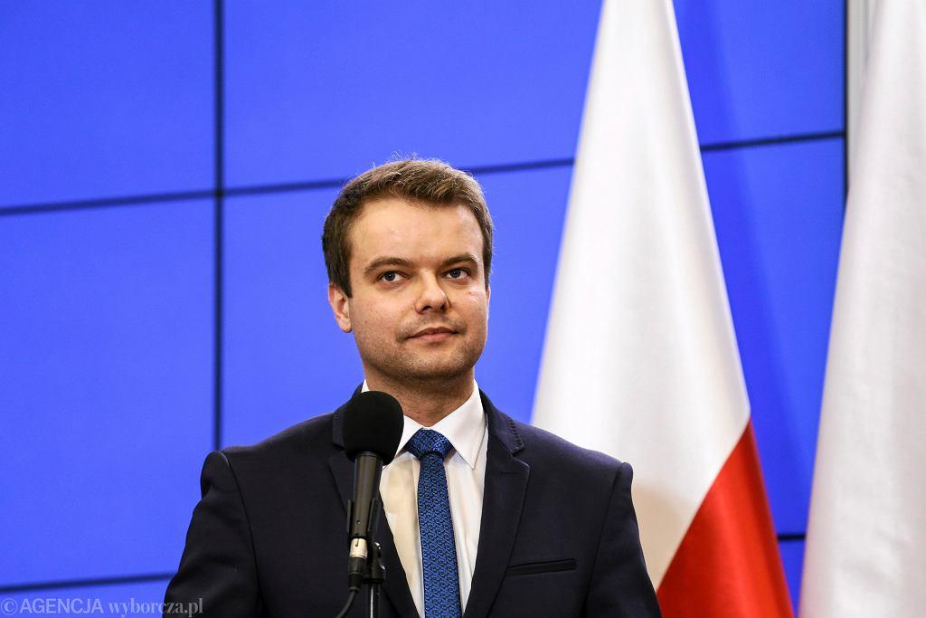 Rafał Bochenek, rzecznik prasowy rządu