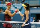 Turniej WTA w Cincinnati. Radwa�ska ju� w �wier�finale