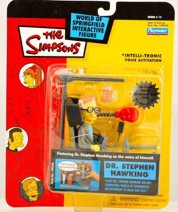 Figurka Stephena Hawkinga