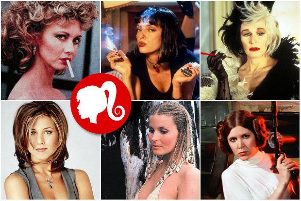 TOP 10: Legendarne filmowe fryzury i ich współczesne interpretacje