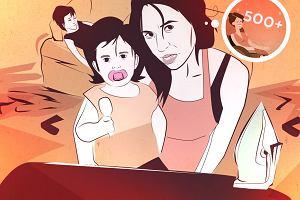 """Jak wygl�da siedzenie matek w domach? SPRAWDZAMY I LICZYMY GODZINY """"NICNIEROBIENIA"""""""