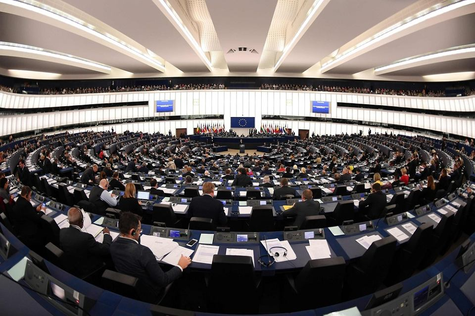15 listopada 2017 r., Strasburg. Debata w Europarlamencie na temat praworządności w Polsce.