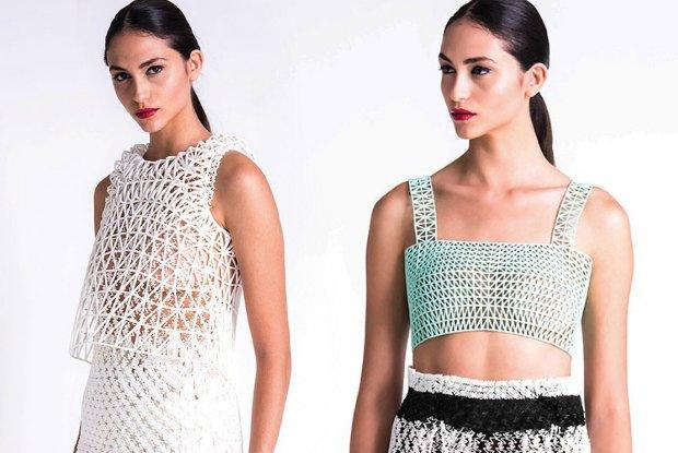 Pierwsza kolekcja ubra� w ca�o�ci wydrukowana na domowej drukarce 3D. M�oda projektantka z Izraela zapowiada modow� rewolucj� [WIDEO]