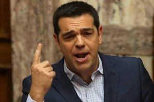 Ca�a Grecja wierzy w swojego Tsiprasa