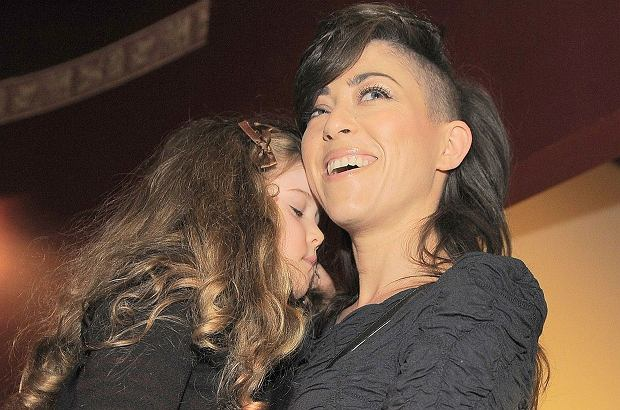 Natalia Kukulska z córką