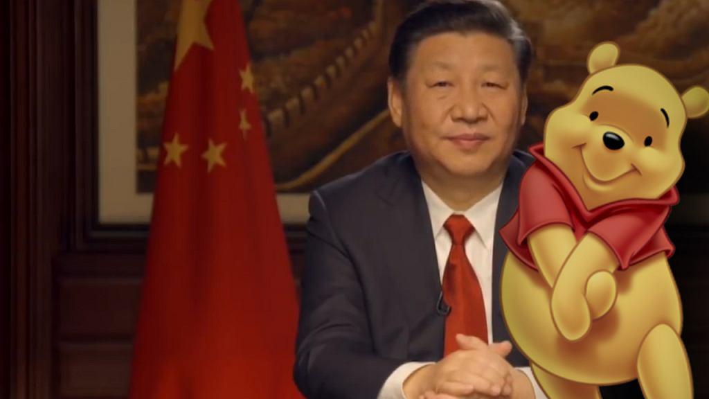 Chiny nie chcą Kubusia Puchatka