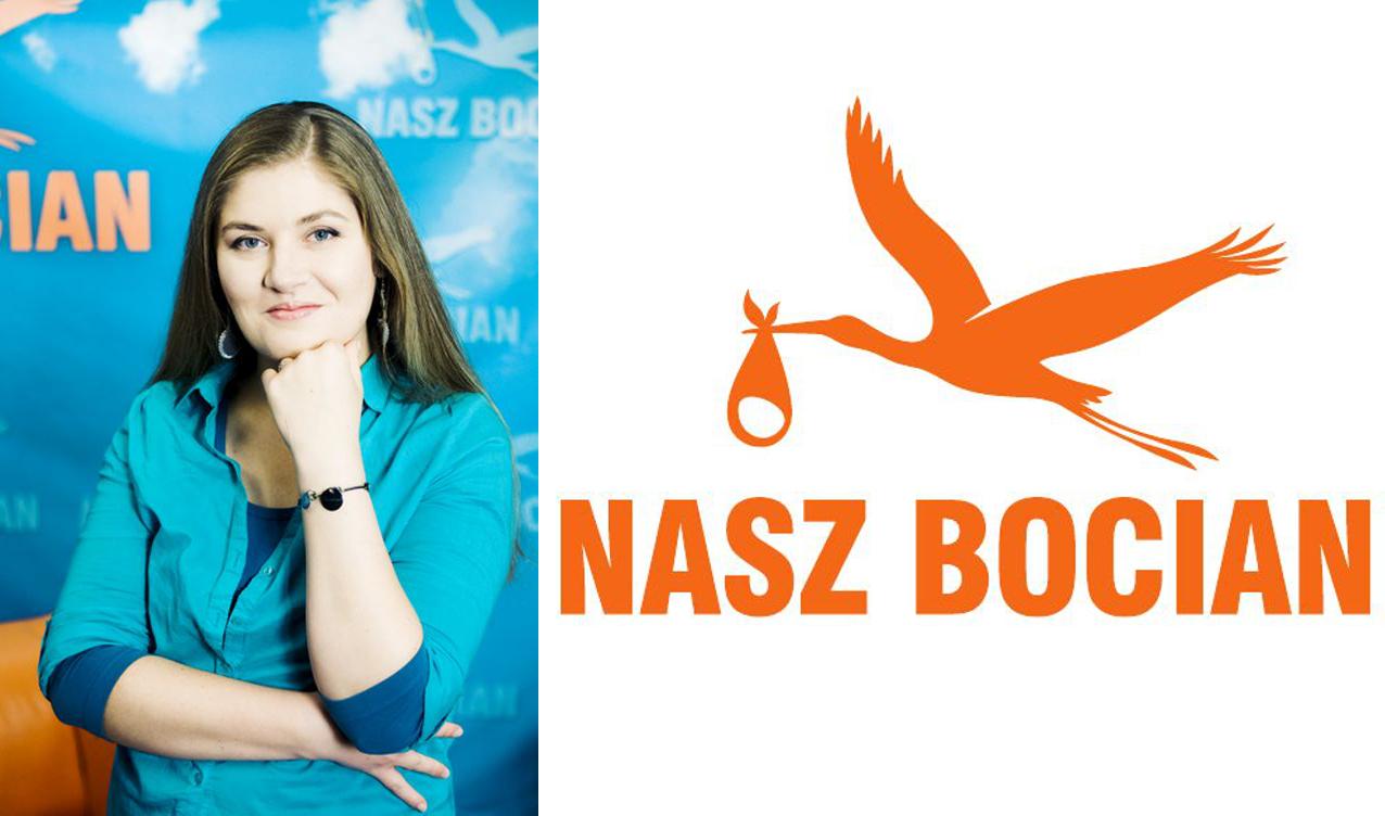 Przewodnicząca Stowarzyszenia na Rzecz Leczenia Niepłodności i Wspierania Adopcji NASZ BOCIAN (fot. Anna Łuczyńska)