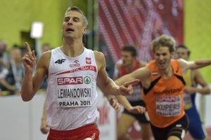 Z�oto Lewandowskiego w biegu na 800 m w halowych mistrzostwach Europy
