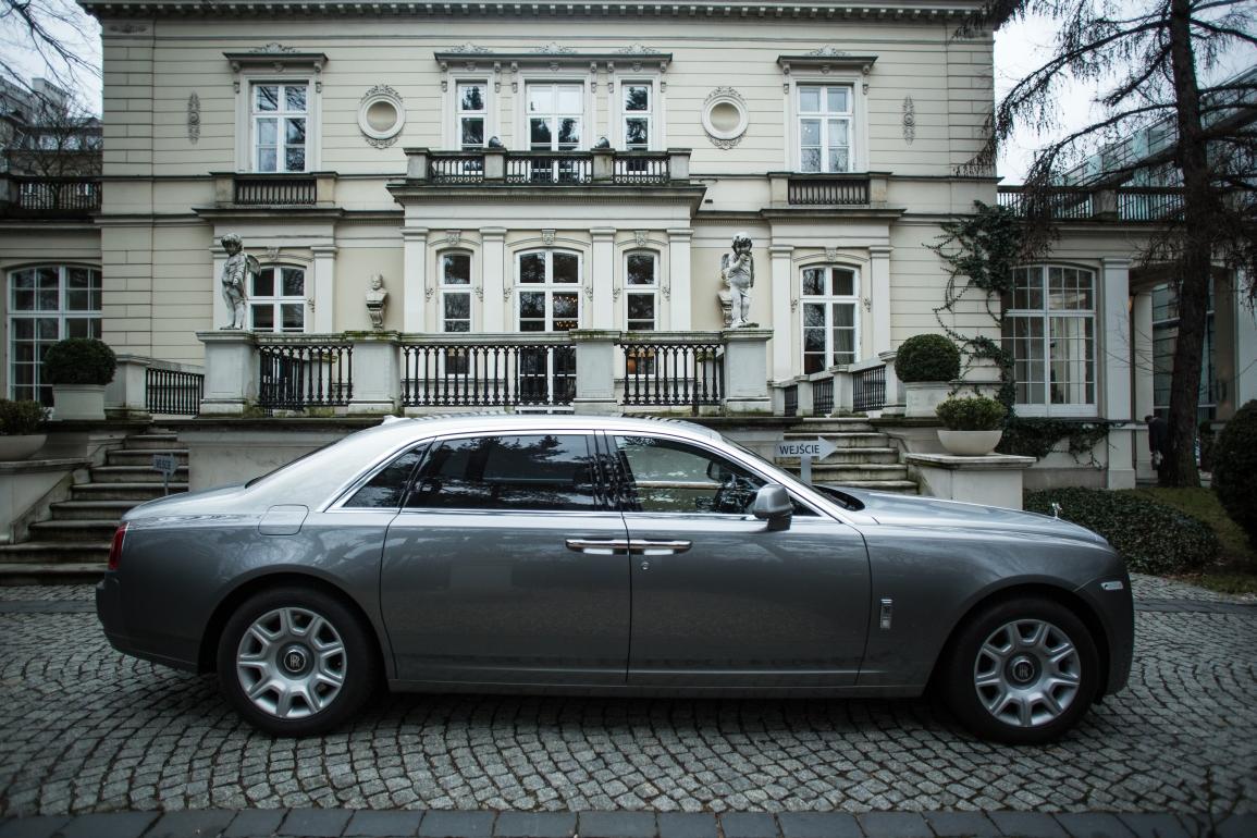 Rolls-Royce (fot. Konrad Konstantynowicz)