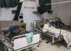 Ofiary ataku bronią chemiczną w jednym z syryjskich szpitali