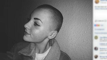 14-latka obcięła włosy na charytatywne peruki dla chorych na raka. Nowa fryzura okazała się źródłem szkolnych problemów.