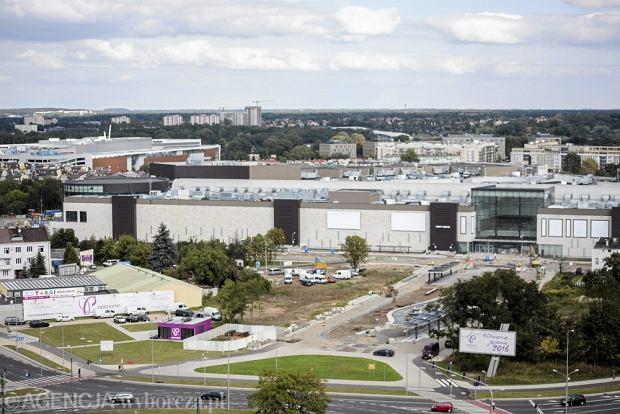 r06.09.2016 Poznan . Panorama miasta . W tle Galeria Posnania i Galeria Malta. Fot. Anna Kowalik / Agencja Gazeta