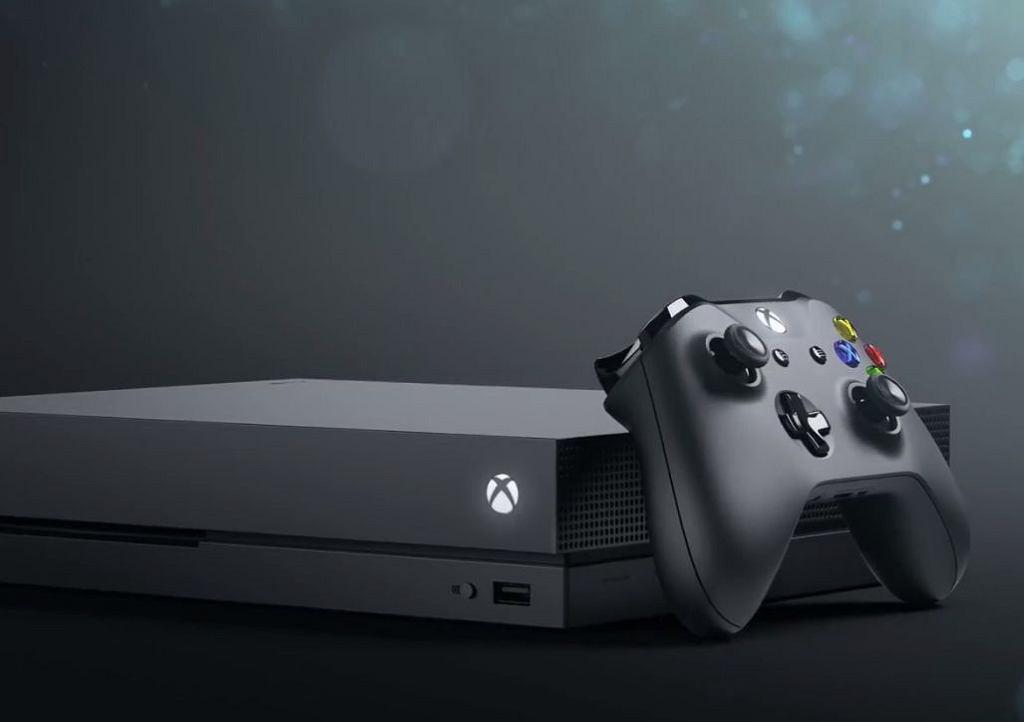 Konsola Xbox One X