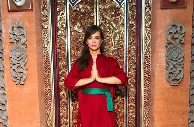 Kinga Rusin w trakcie kręcenia zdjęć do programu 'Agent - Gwiazdy' na Bali