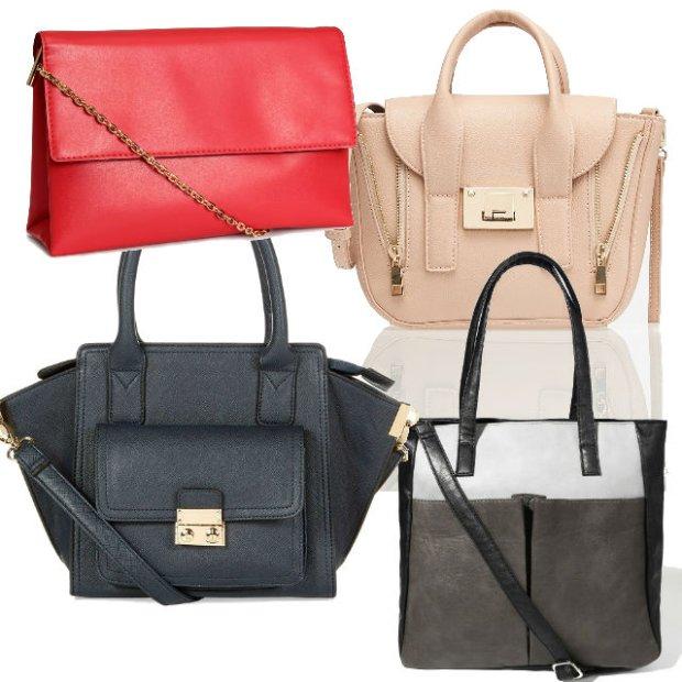 Eleganckie i klasyczne torebki poni�ej 100 z�