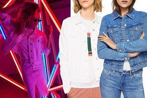Kolaż, jeansowe kurtki/Materiały partnera