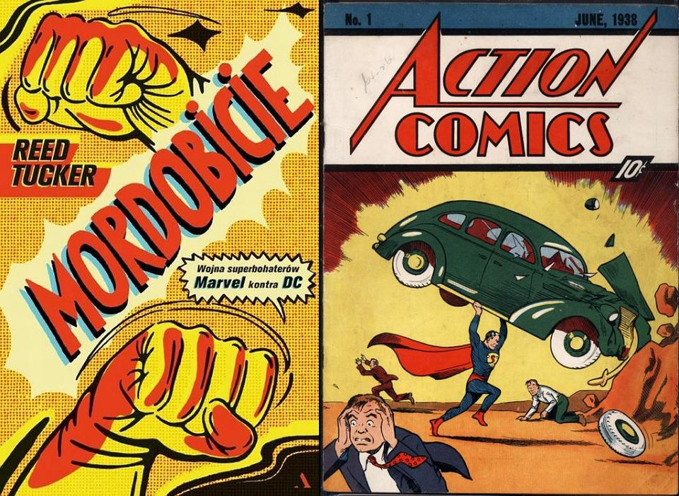 Książka Reeda Tuckera 'Mordobicie. Wojna superbohaterów: Marvel kontra DC' ukaże się 18 kwietnia w Wyd. Agora
