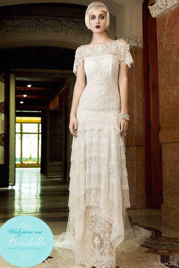 Wyjątkowe Suknie W Stylu Lat 20 Kolekcja Yolancris