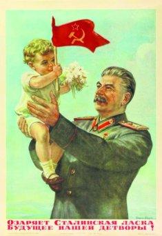Znalezione obrazy dla zapytania stalin z dzieckiem na reku