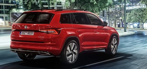skoda kodiaq sportline suv na sportowo. Black Bedroom Furniture Sets. Home Design Ideas