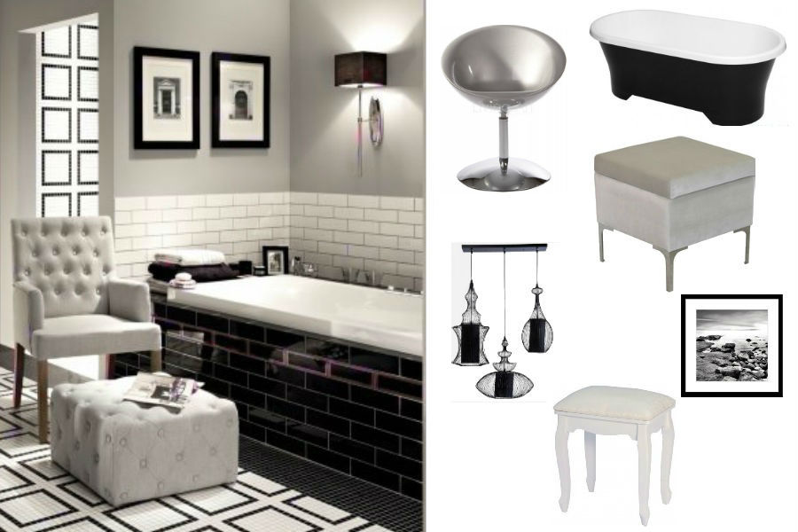 Dodatki do łazienki w eleganckim stylu