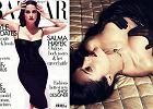 """46-letnia Salma Hayek pozuje topless dla """"Harper's Bazaar"""" - jak ona to robi, że wciąż tak wygląda?! [ZDJĘCIA]"""