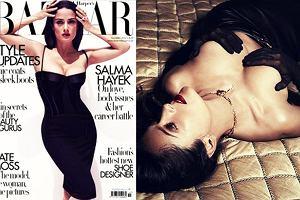 """46-letnia Salma Hayek pozuje topless dla """"Harper's Bazaar"""" - jak ona to robi, �e wci�� tak wygl�da?! [ZDJ�CIA]"""