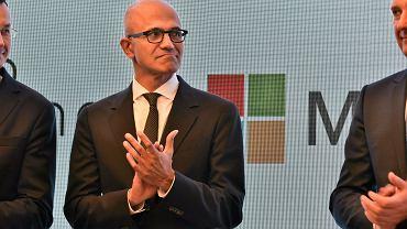 Prezes Microsoft Corporation Satya Nadella