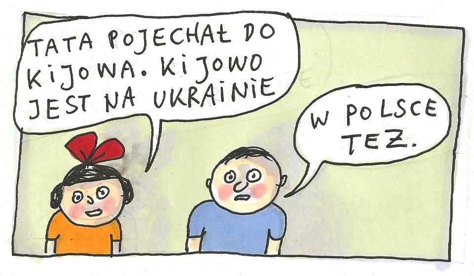 Marek Raczkowski dla Gazeta.pl - 9.12.2013 - rys. Marek Raczkowski