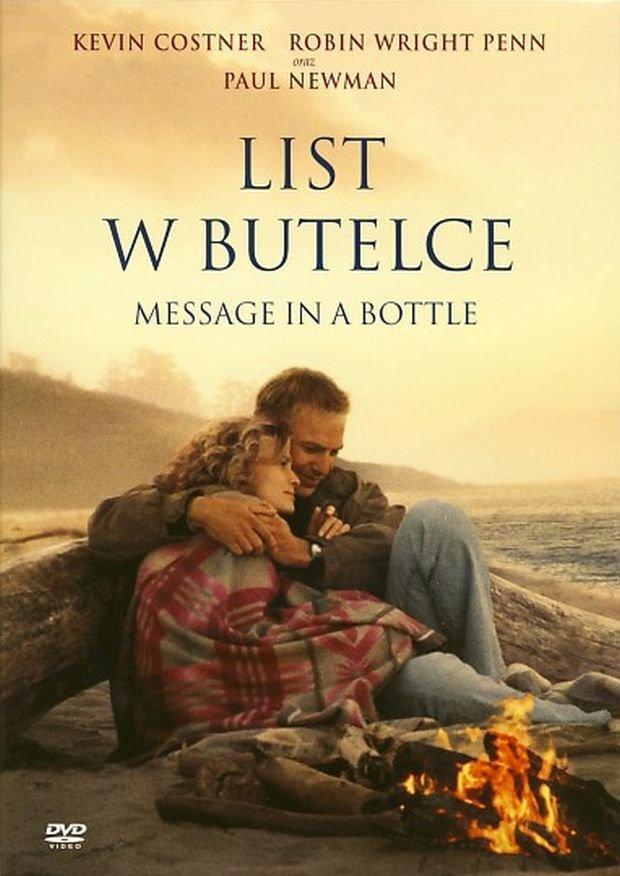 List w butelce okładka