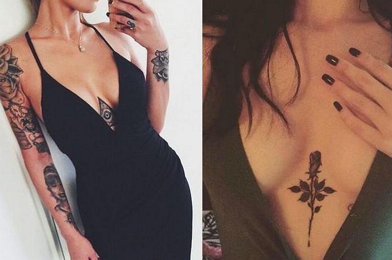 Tatuaż Między Piersiami Ozdoba Którą Pokochasz Nie Tylko Ty Ale