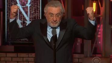 Robert De Niro na Tony Awards 2018