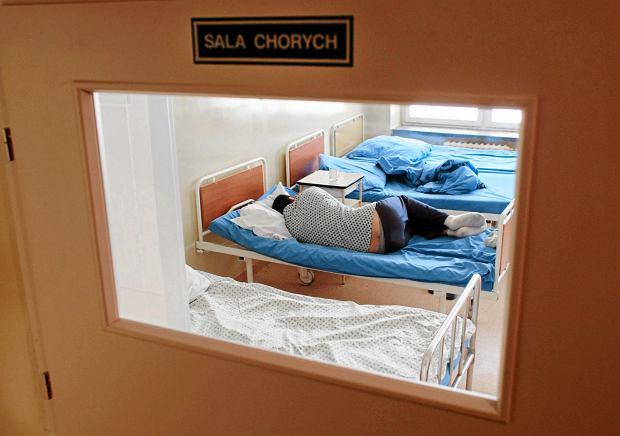 Szpital neuropsychiatryczny w Lublinie (fot. Rafal Michalowski / Agencja Gazeta)