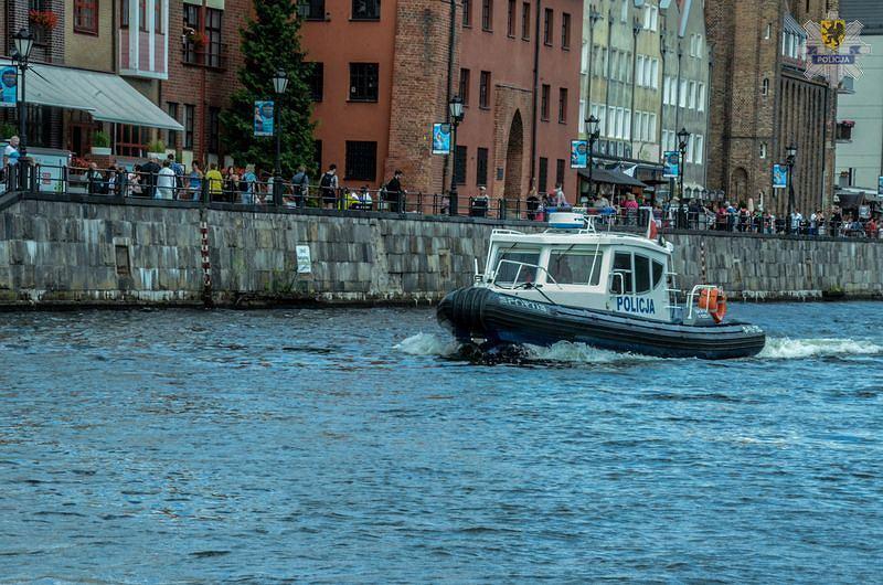 Policja wodna w Gdańsku