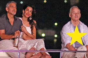 George Clooney, Amal Clooney, Bill Murray