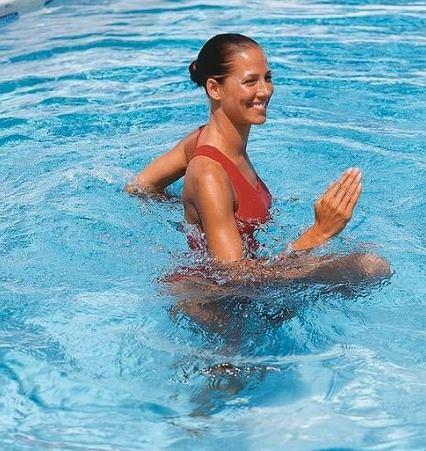 Aqua jogging pomaga wrócić do formy po przebytych kontuzjach