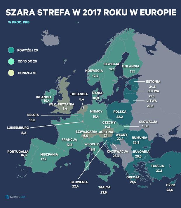 Szara strefa w Europie