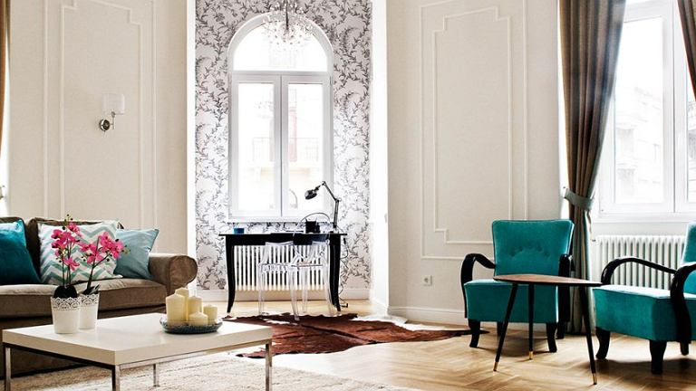 Eklektyczny apartament w Budapeszcie
