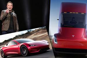 Elon Musk znów zaszokował świat. Tesla prezentuje dwa niezwykłe pojazdy. Od 0 do 100 km/h w 1,9 sekundy